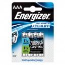 4 piles LR03 (AAA) Ultimate Lithium
