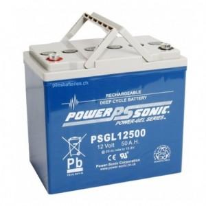Batterie Plomb (AGM) Power Sonic PSGL12500 AGM - 12V 50Ah