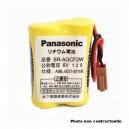 Batterie automate 2x CR17450 2S1P ST1 6V 2.4Ah JAE