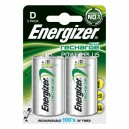 2 Piles rechargeables NiMh - HR20 (D) 2500 mAh Energizer